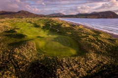 Thirteenth on Old Tom Morris Ballyliffin