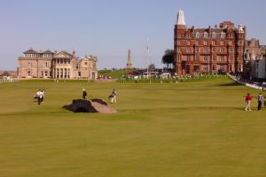Image of golf at St. Andrews