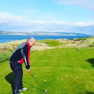 Joe Lyons Golfing at Castle Staurt