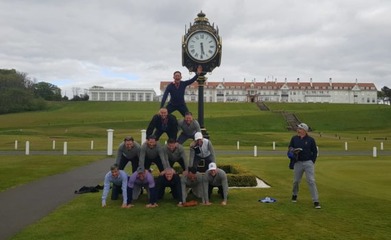 Clients pictured at Turnberry